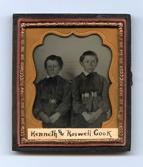 Kenneth and Roswell Cook - Page