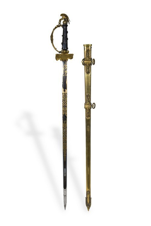 General James G. Blunt's presentation sword - Page