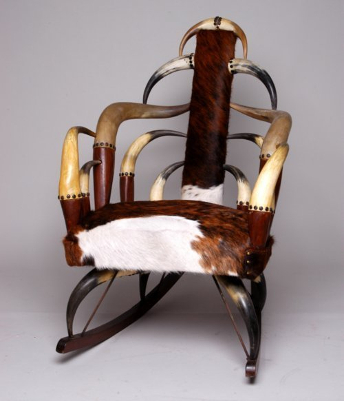 Horn rocking chair - Page