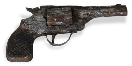 Hand-carved revolver - Page