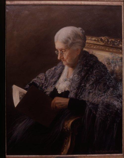 Betty Wollman portrait - Page