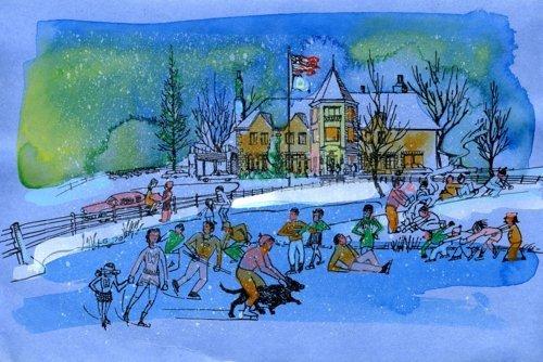 Christmas card - Page