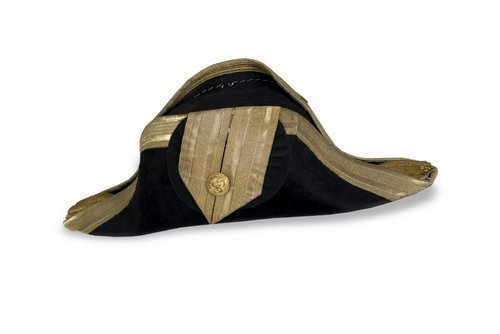 U.S. Navy full dress bicorne hat that belonged to Admiral John Edward Gingrich