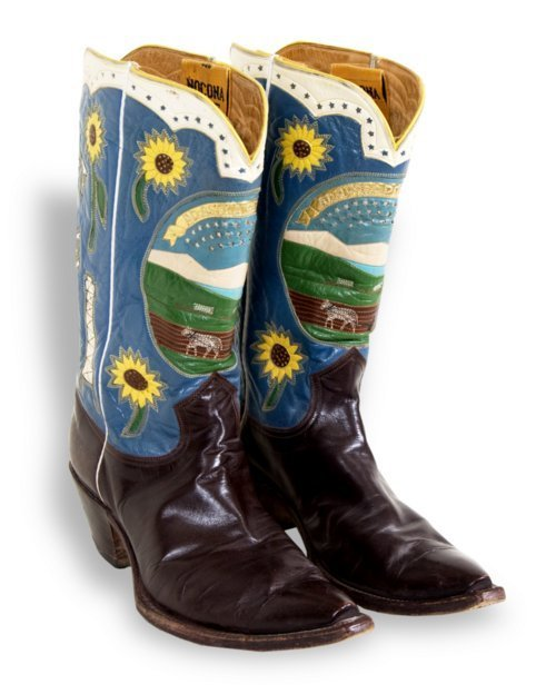 Governor Fred Hall's cowboy boots - Page
