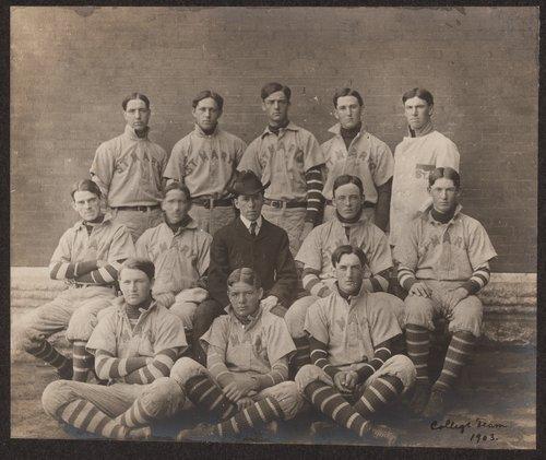 St. Mary's baseball team, St. Marys, Kansas - Page