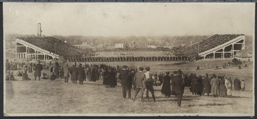 Football game, Memorial Stadium, University of Kansas, Lawrence, Kansas - Page