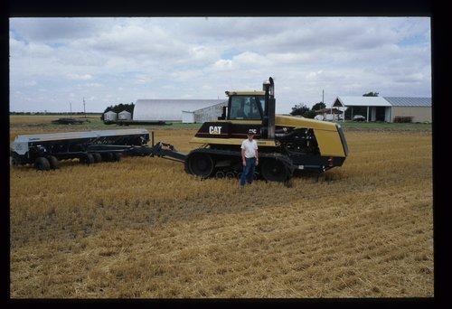 Robert Miller farm, Wellington, Kansas, Harvesting Scenes - Page