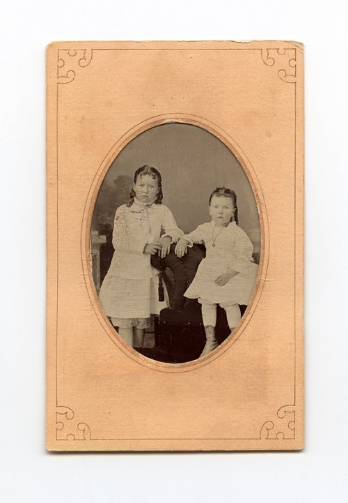 Unidentified girls, Adair family - Page