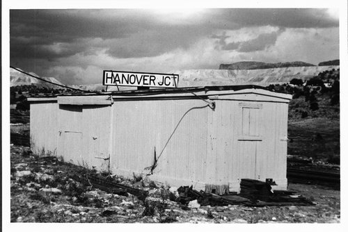 Atchison, Topeka & Santa Fe Railway Company's Hanover Junction, New Mexico - Page