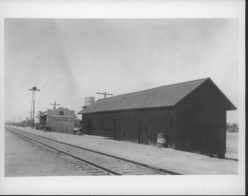 Atchison, Topeka & Santa Fe Railway Company depot, Hot Springs Junction, Arizona - Page