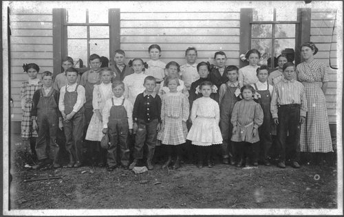 Sunny Side School, Jefferson County, Kansas - Page