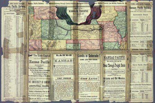 To Kansas & Colorado : Kansas Pacific railway, the great through route! - Page