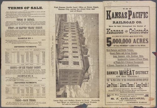 The Kansas Pacific Railroad Company has 5,000,000 acres for sale! - Page