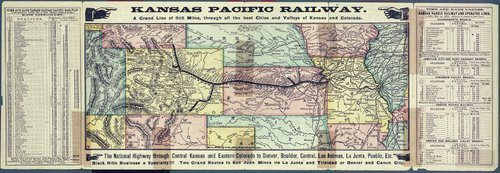 To Kansas and Colorado : the Kansas Pacific Railway Company, the great through route - Page