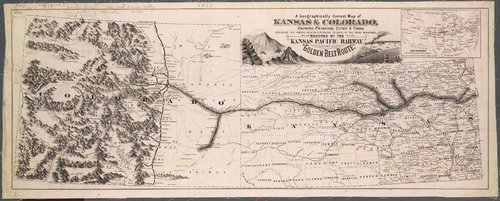 "The ""Golden Belt Route"" of the Kansas Pacific Railway - Page"