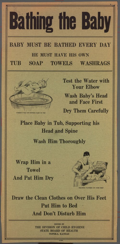 Bathing the baby - Page