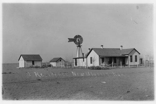 Residence near Ulysses, Kansas - Page
