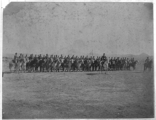 I troop, 8th U. S. Cavalry in New Mexico - Page
