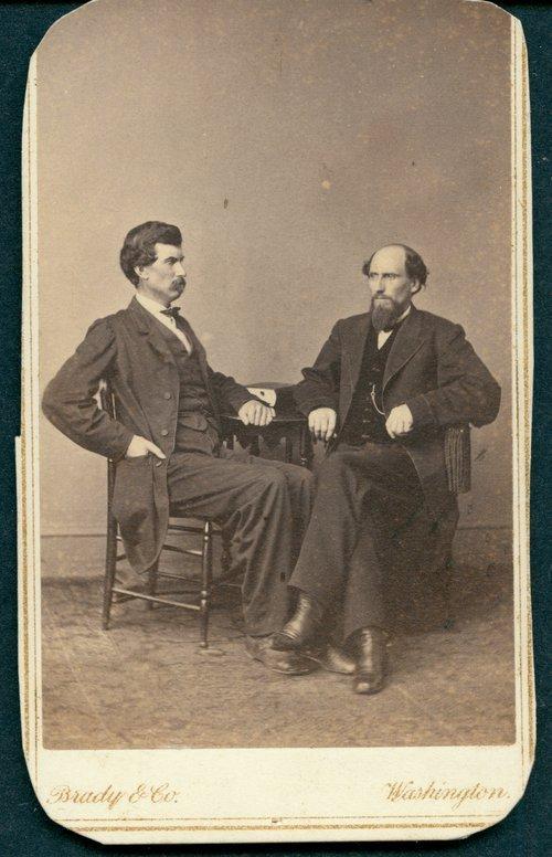 Governor Samuel Crawford and James Monroe Williams - Page