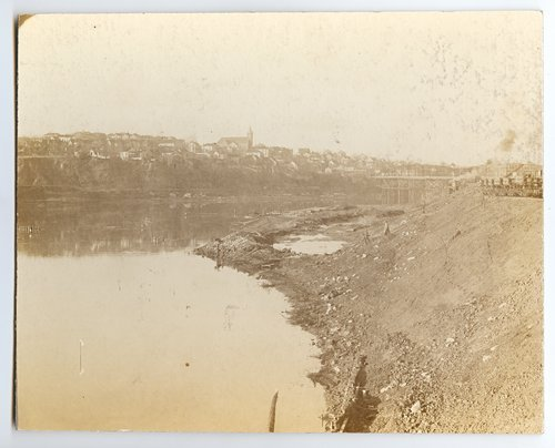 Kansas River with Strawberry Hill in the background, Kansas City, Kansas - Page