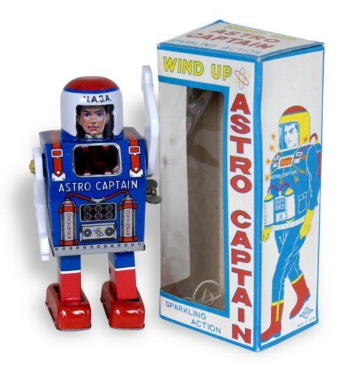 Astro Captain mechanical toy - Page