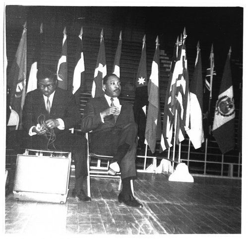 Martin Luther King at Kansas State University - Page