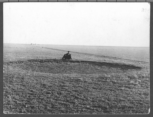 Buffalo wallow in Haskell County, Kansas - Page
