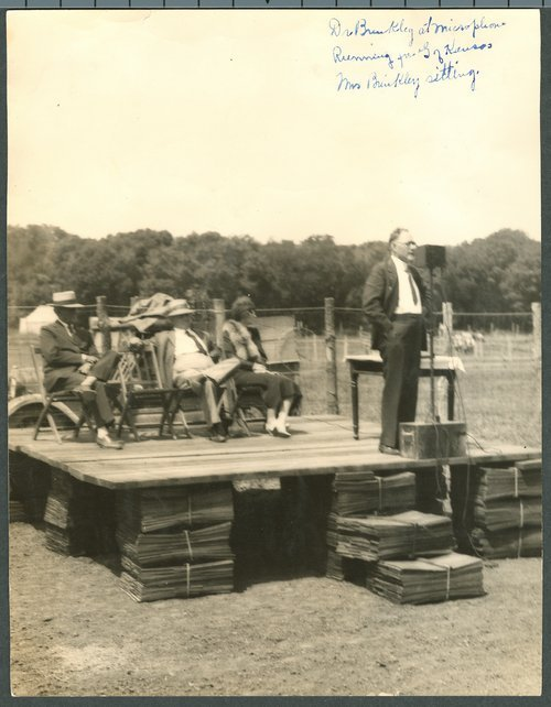 John R. Brinkley campaigning for governor - Page