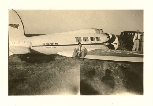 Lockheed Electra owned by John L. Brinkley