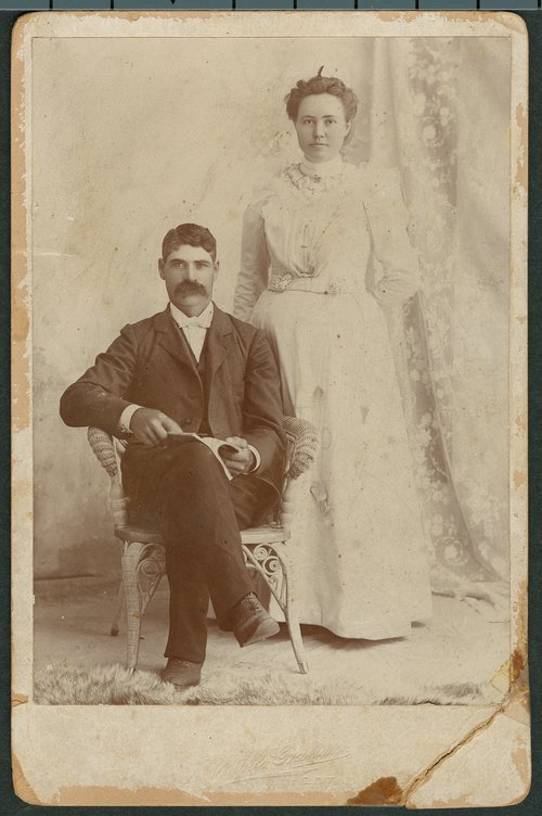 John Russell and Flora Billings Rathbun - Page