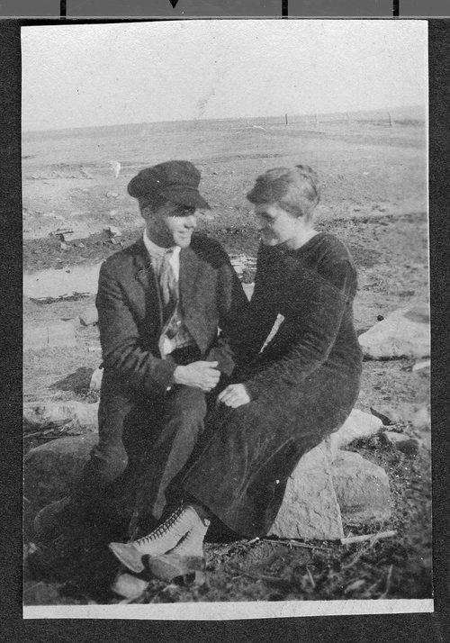 Ralph Prickett and Keturah Rathbun near Simpson, Kansas - Page