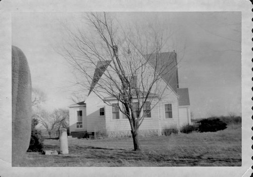 Ralph Collier's house and barn in Wabaunsee County, Kansas - Page