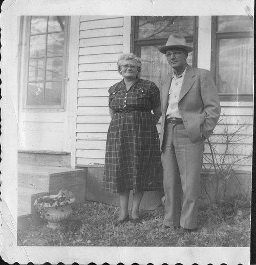 Ralph and Keturah Rathbun Prickett in Alta Vista, Kansas - Page