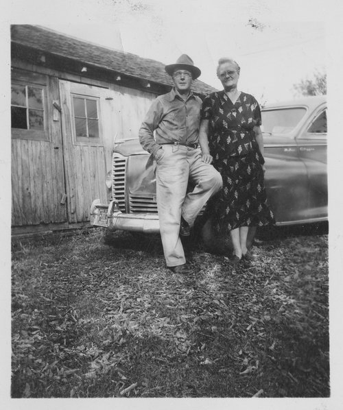 Ralph and Keturah Prickett in Alta Vista, Kansas - Page