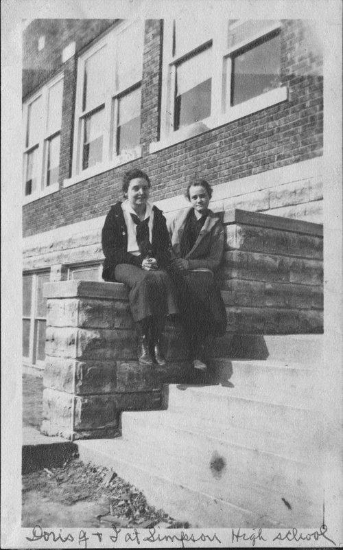Doris Jennings and Keturah Rathbun Prickett - Page