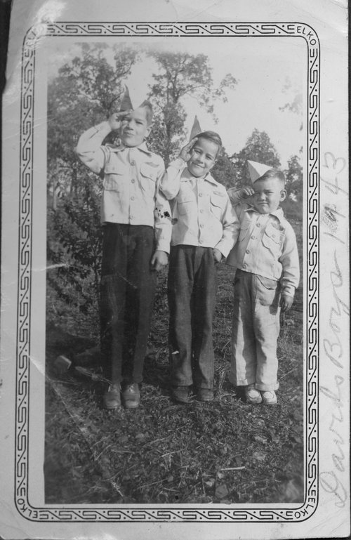 David Lowell, Jack Rathbun and Loren Rathbun - Page