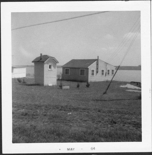 Ralph and Keturah Prickett's cabin at Council Grove Lake, Morris County, Kansas - Page