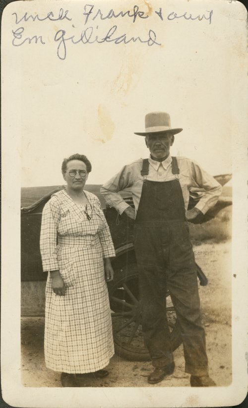 Frank and Em Gilliland - Page