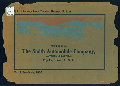 All the way from Topeka, Kansas, U.S.A. The Smith Automobile Company - Page