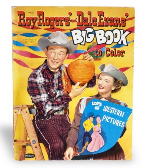 Roy Rogers coloring book - Page