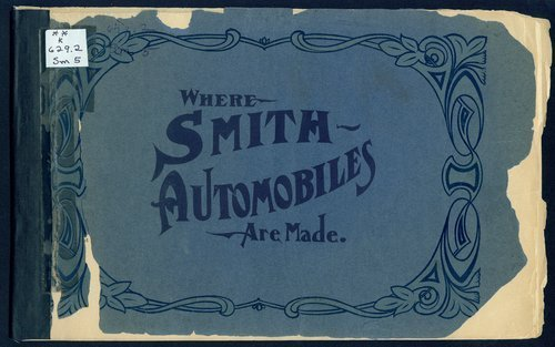 Where Smith automobiles are made. Smith Automobile Company, Topeka, Kansas - Page