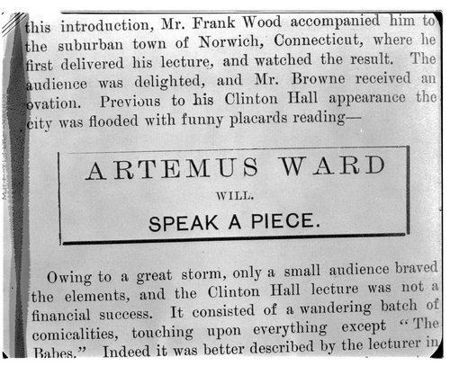 Artemus Ward - Page
