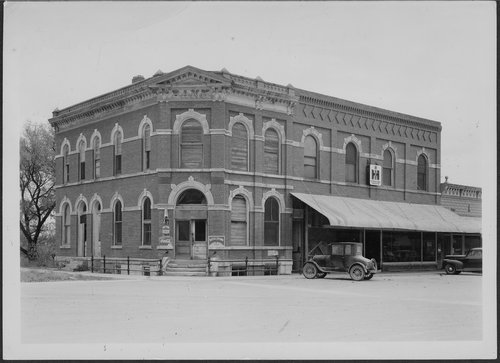 Bank, Kirwin, Kansas - Page