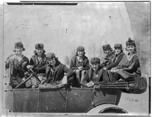 Women in car, Lane County, Kansas - Page