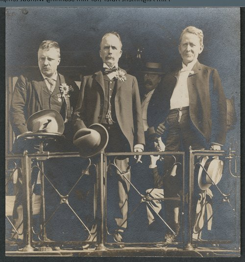 Theodore Roosevelt, Newton, Kansas - Page