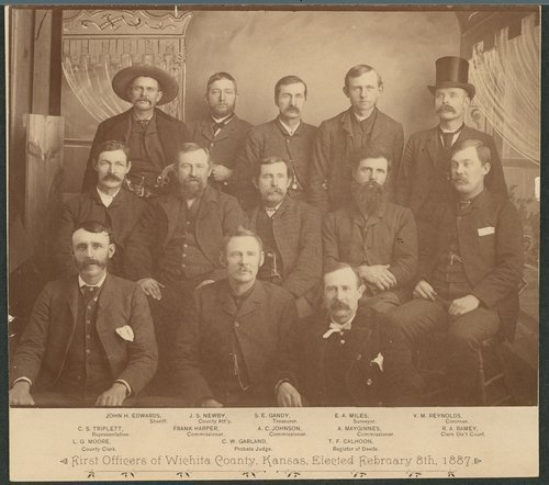 First elected officers, Wichita County, Kansas - Page
