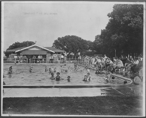 Swimming pool, St. Marys, Kansas - Page
