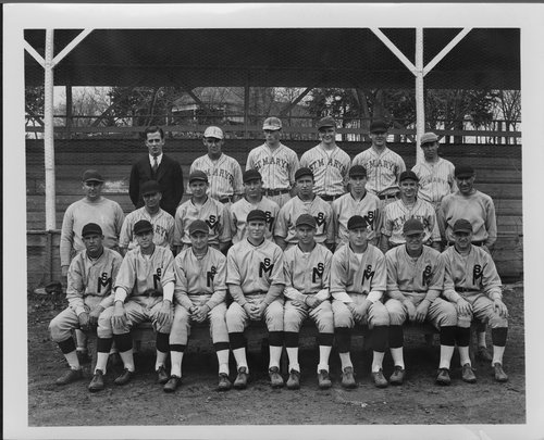 St. Mary's baseball team, St. Marys, Kansas - Page