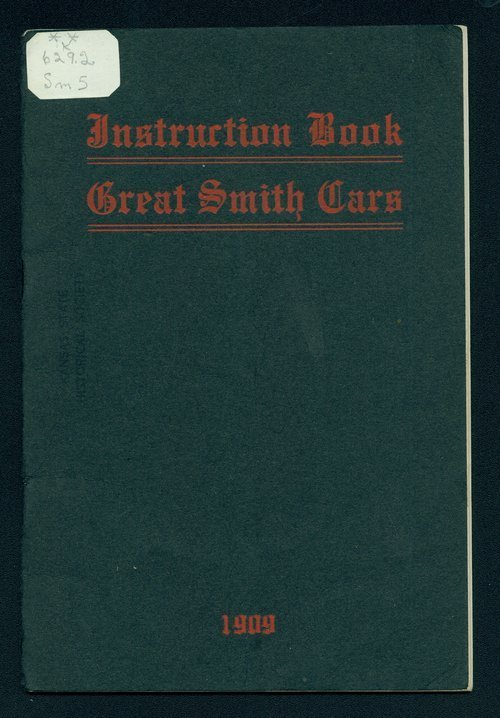 Instruction book. Great Smith cars - Page