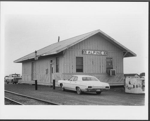 Atchison, Topeka and Santa Fe Railway Company depot, Alpine, Texas - Page